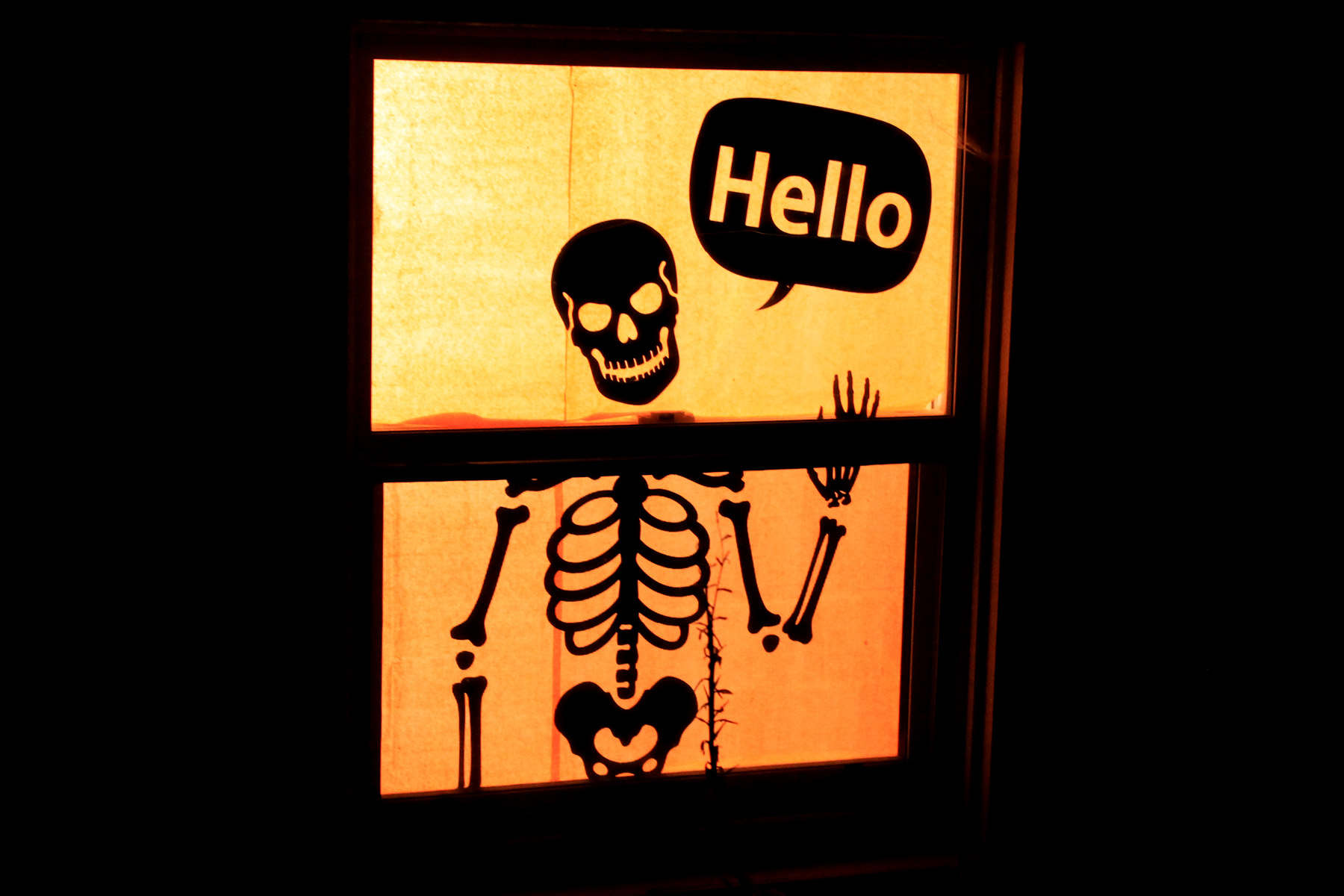 related - Halloween Window Decor