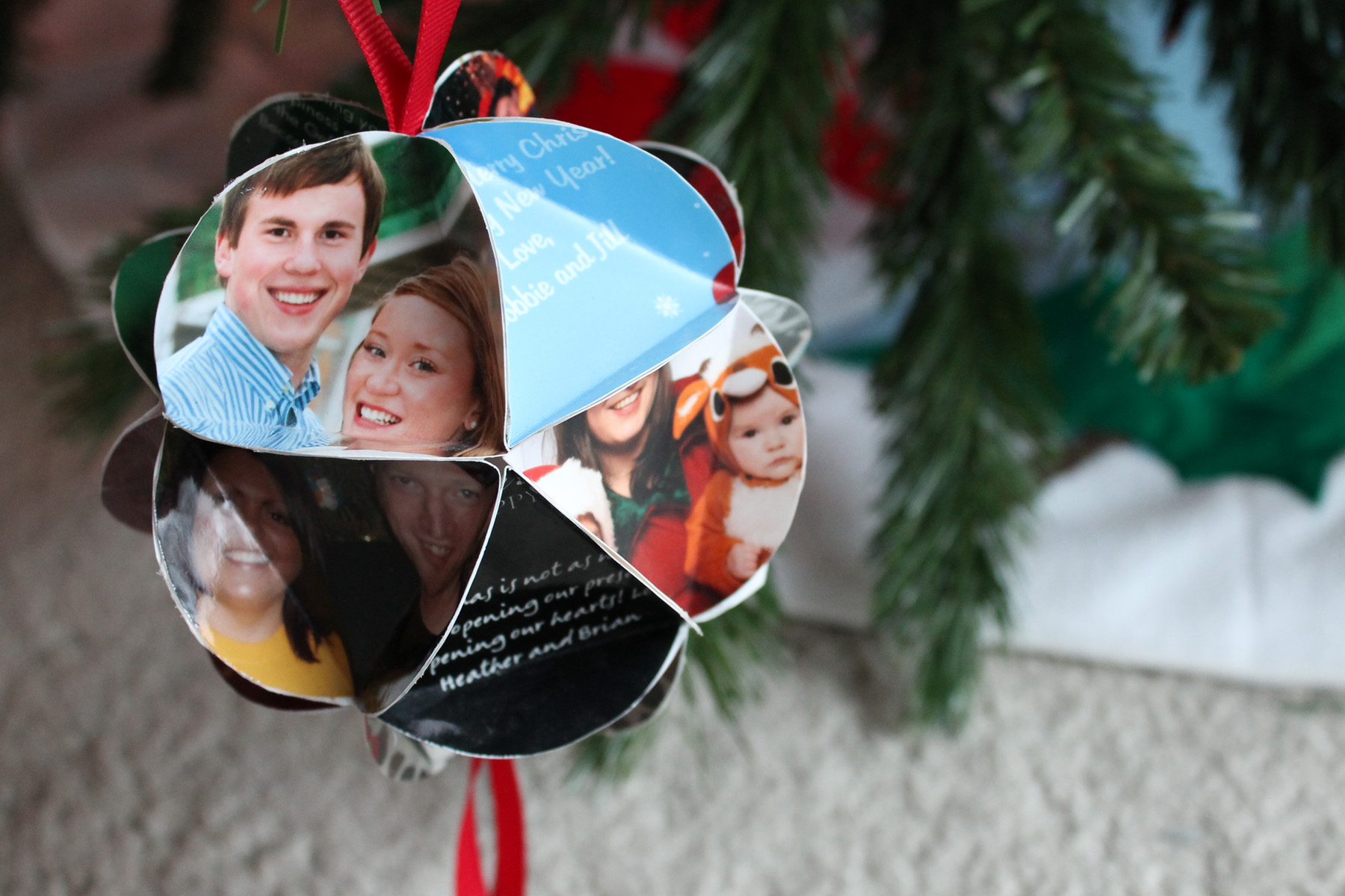 Christmas Card Ornaments - Who Arted?