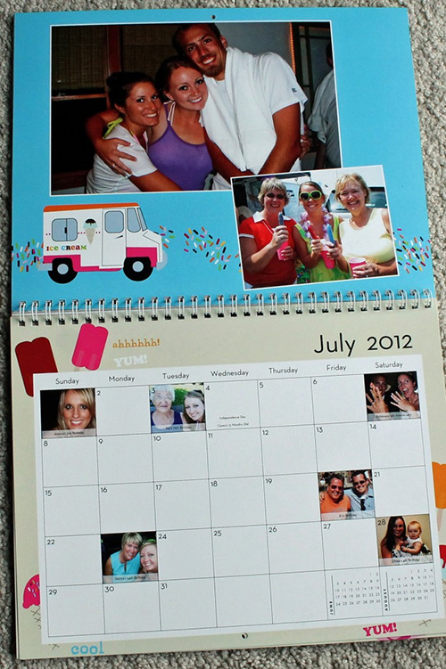 Calendar Ideas Photo : Personalized calendars who arted