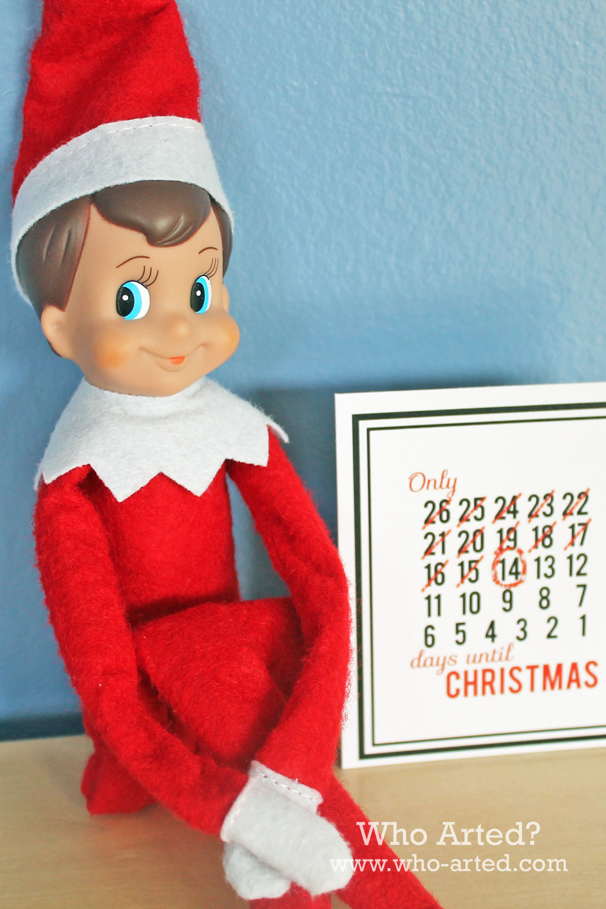 It's just an image of Dynamite Elf on the Shelf Free