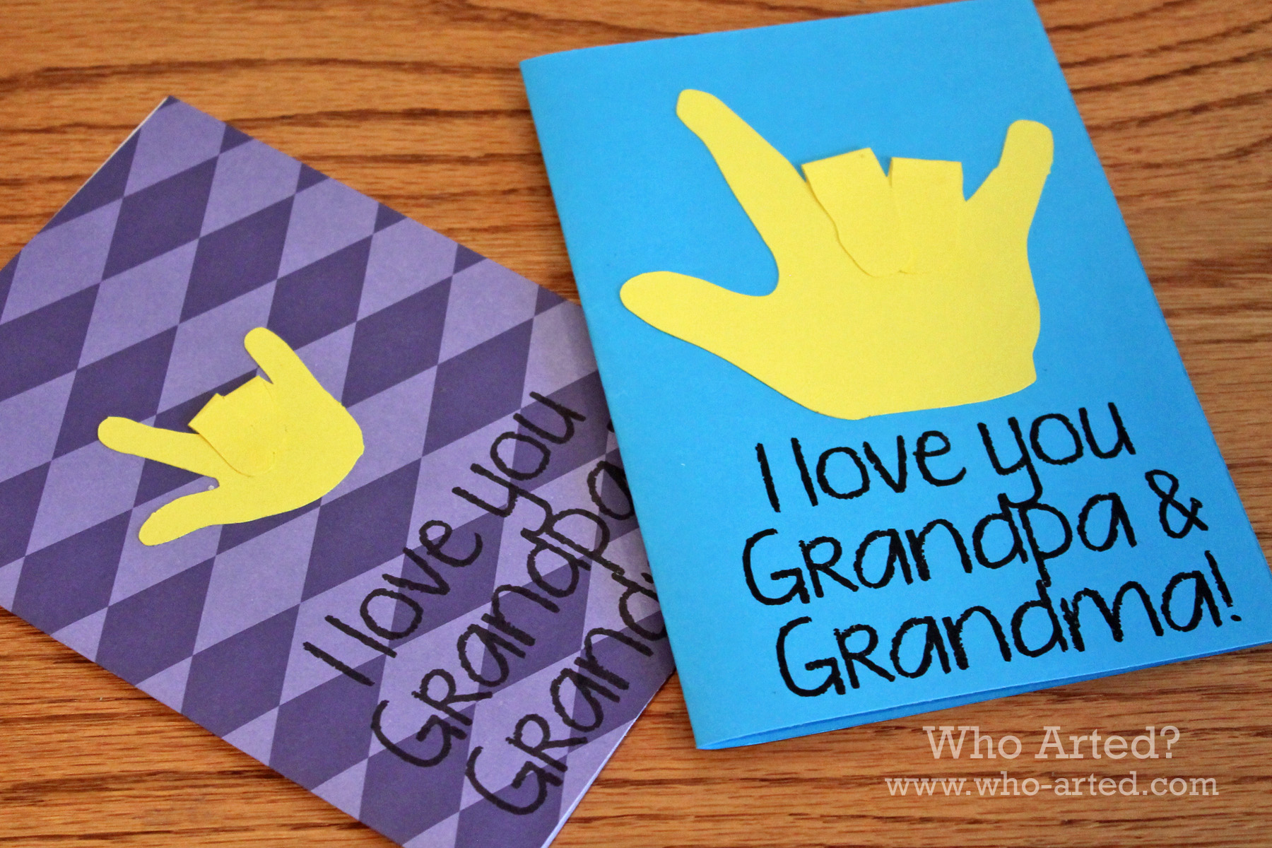 Awesome Card Making Ideas For Grandparents Day Part - 12: Grandparents Day Cards 08