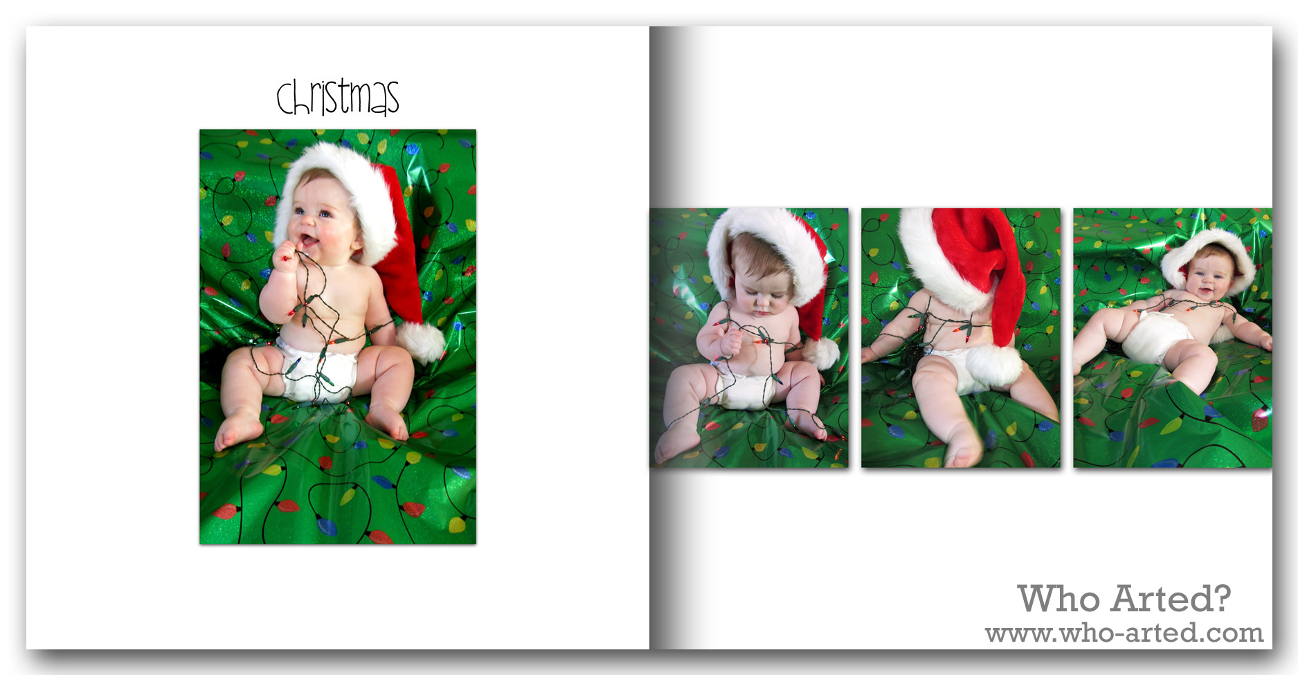 Baby Book Ideas - Who Arted?