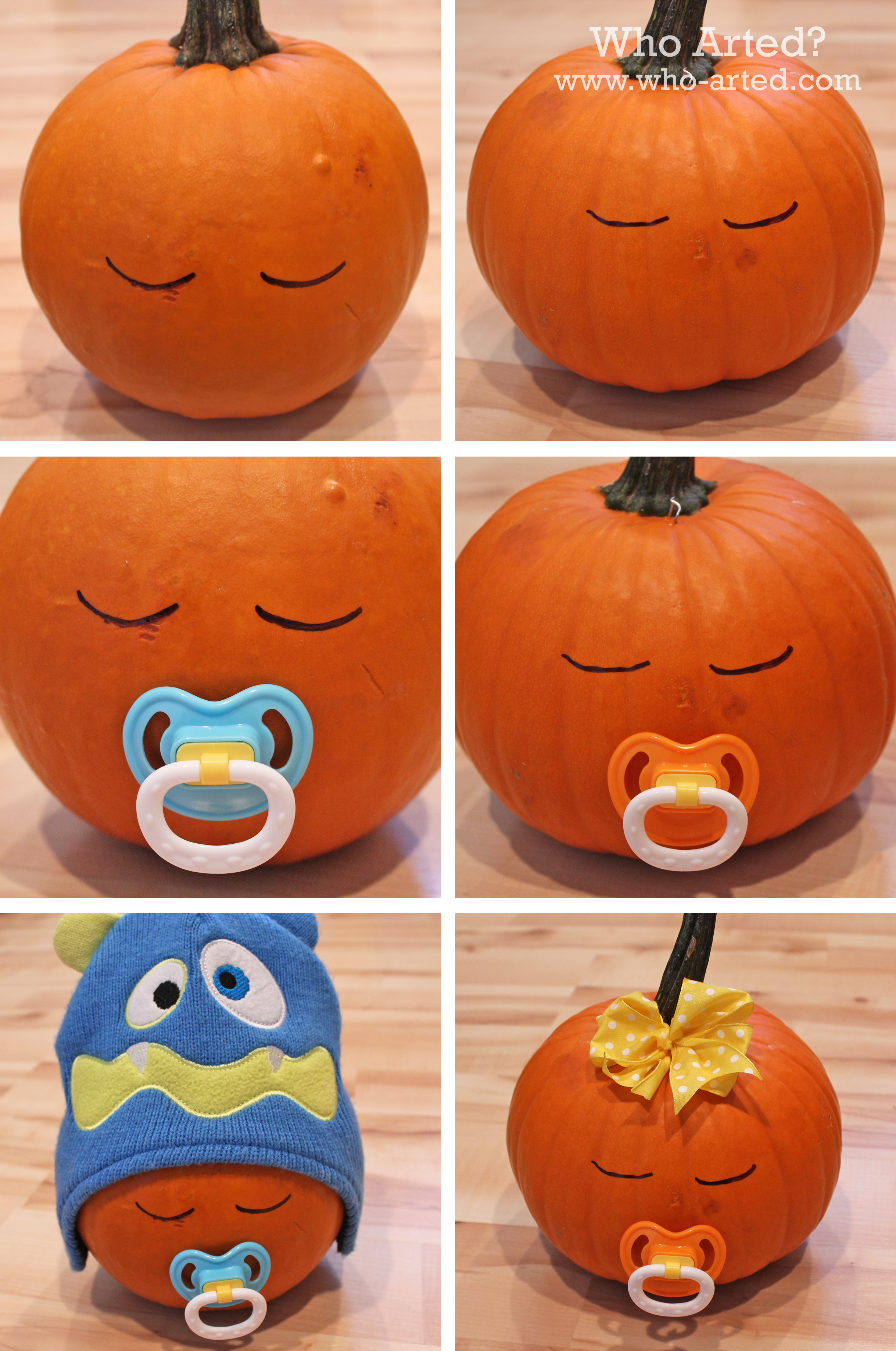 alternatives to carving pumpkins - who arted?