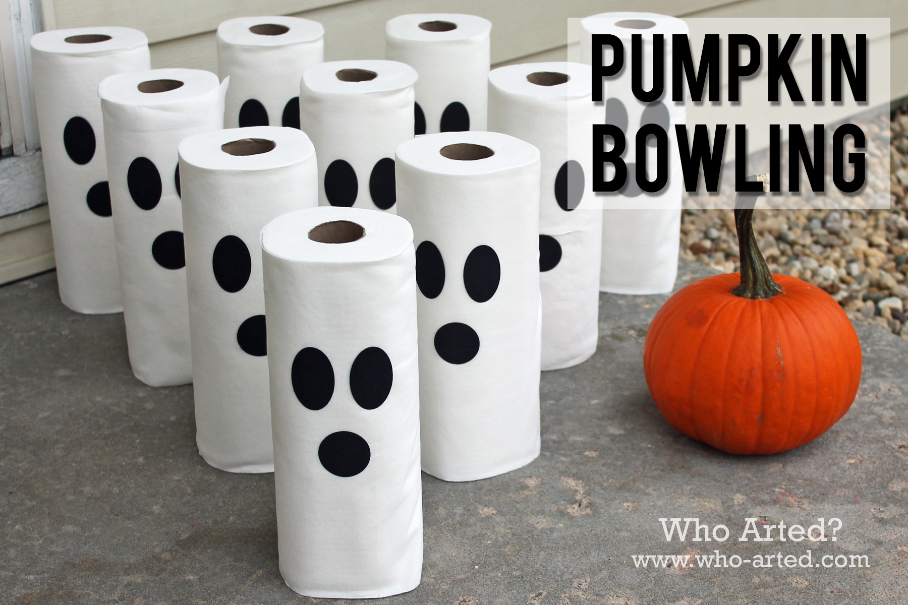 pumpkin bowling 07 - Halloween Gmaes