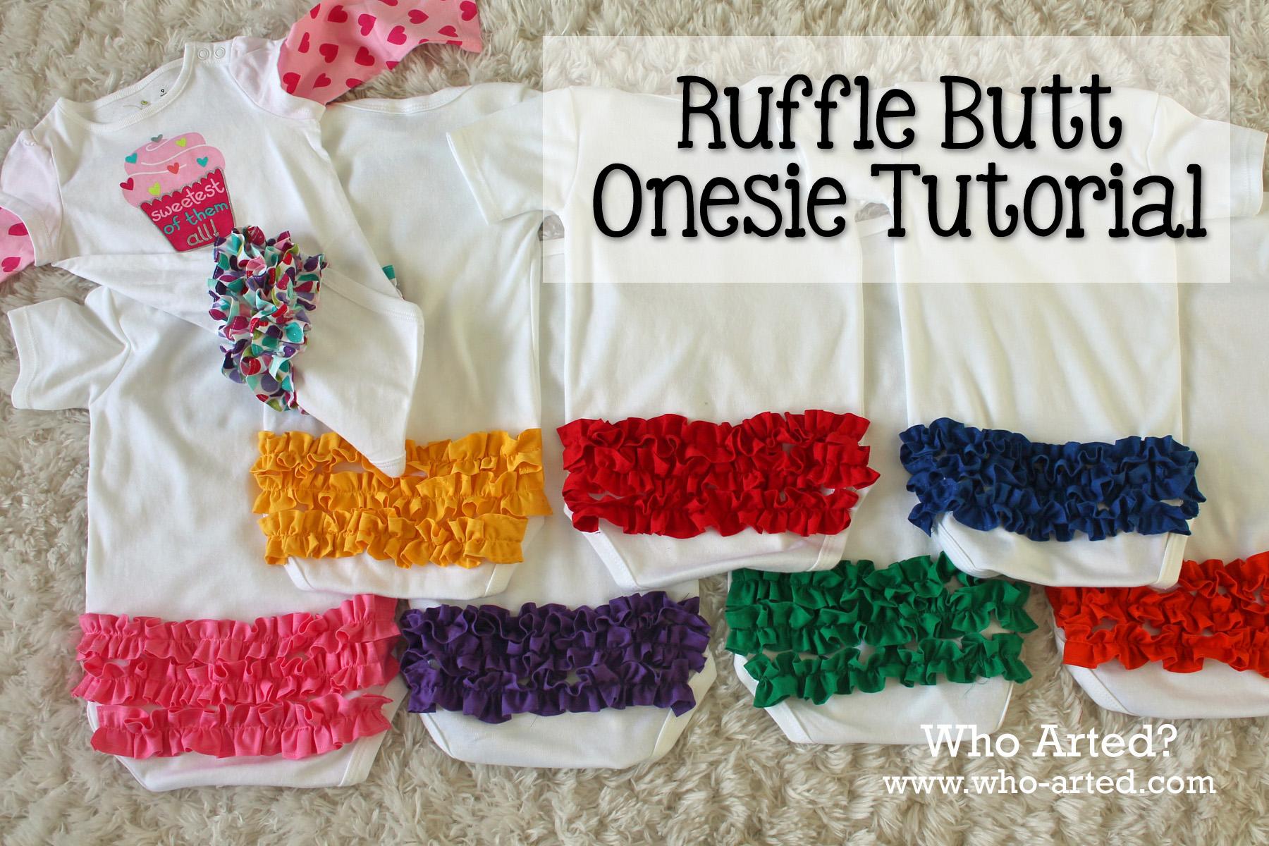 Ruffle Butt Onesie 30