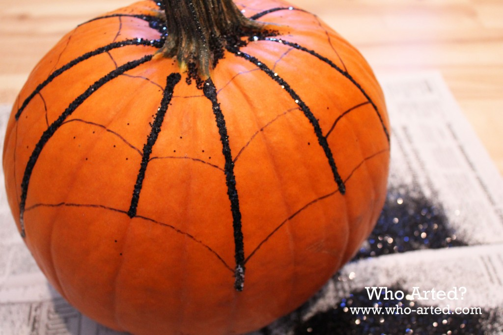 Spider Web Pumpkin 06
