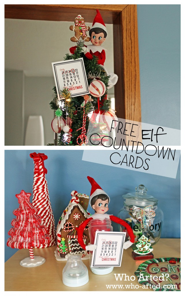 Free Elf on the Shelf Printables 02