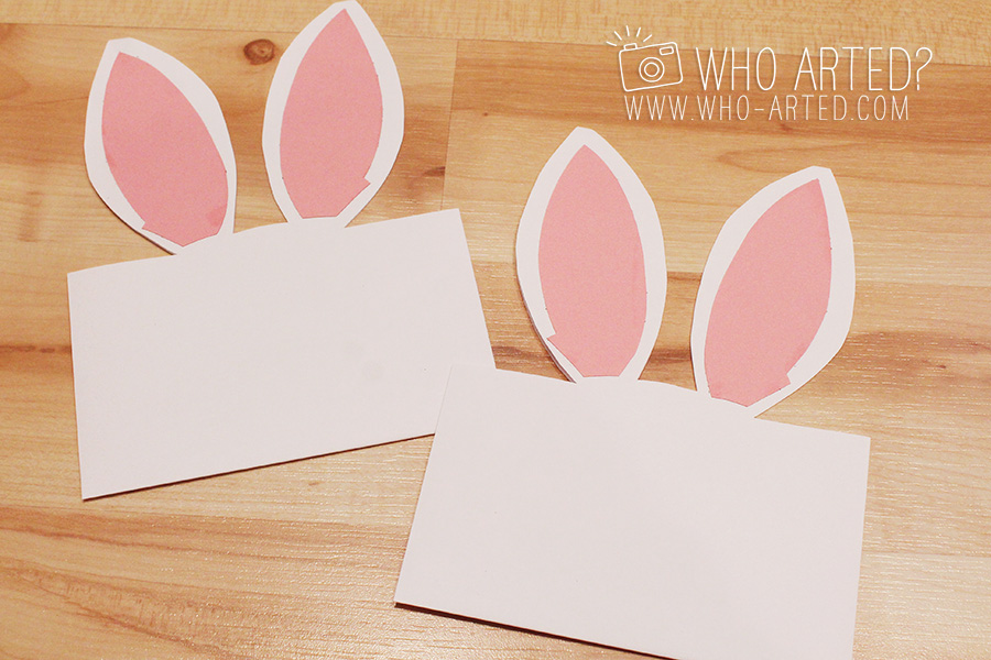 Easter Bunny Envelopes - Who Arted?