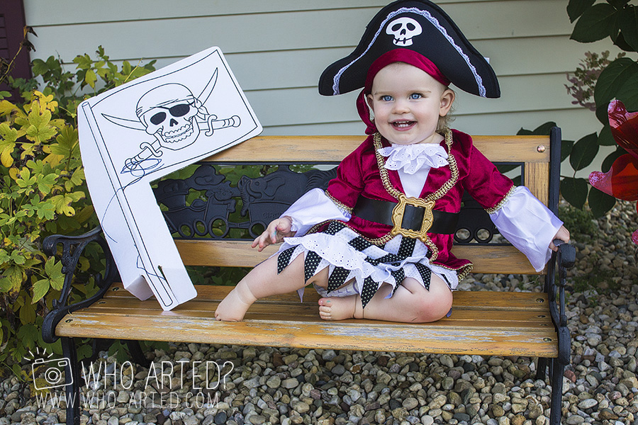 2014-09-19 Talk Like a Pirate Day 02  sc 1 st  Who Arted? : princess pirate costume  - Germanpascual.Com