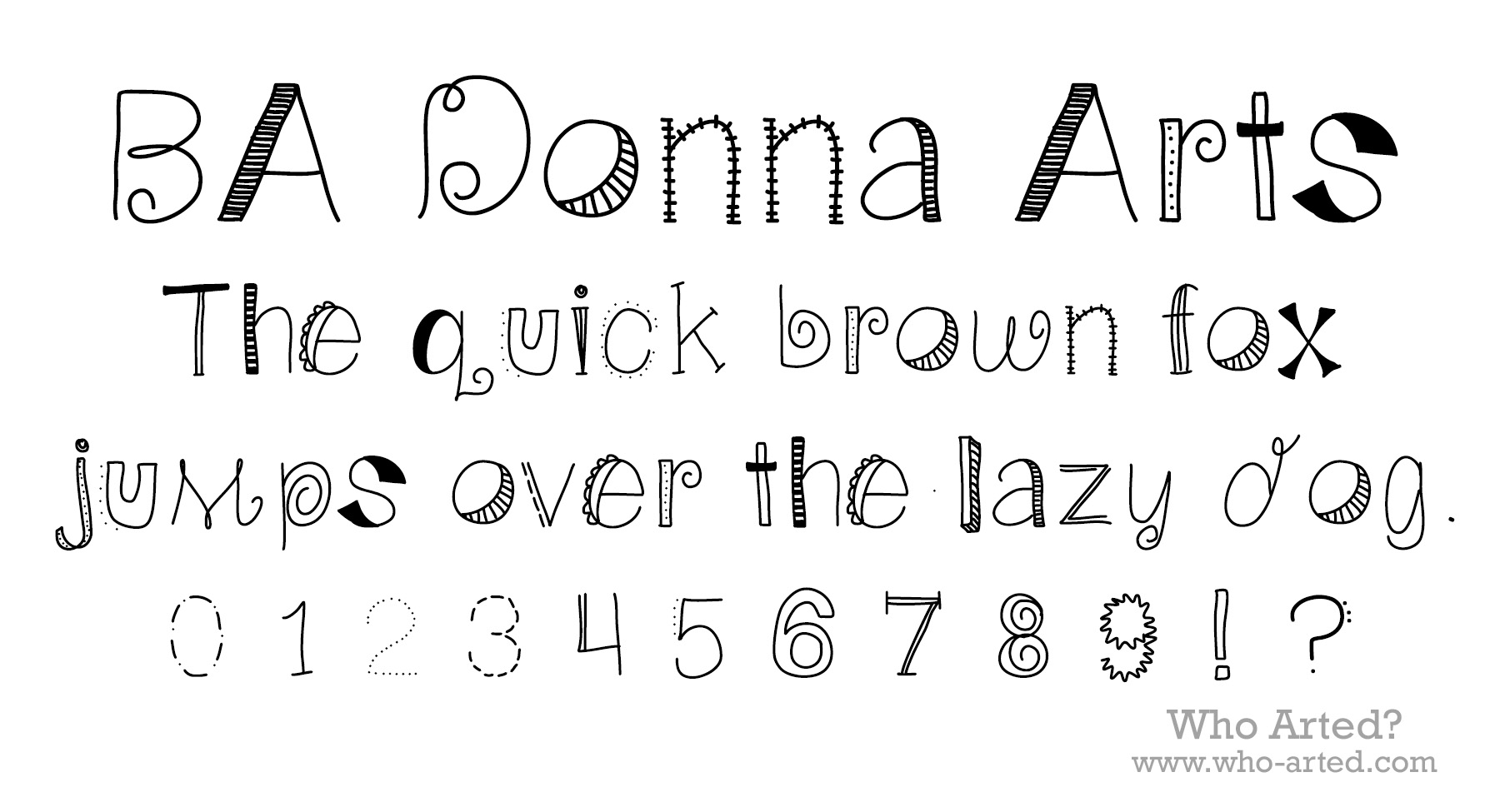 How To Make Your Own Fonts And Download Mine For FREE