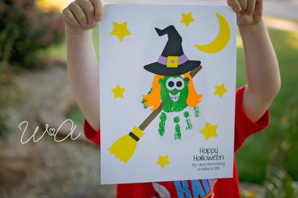 Witch Handprint Craftivity 01