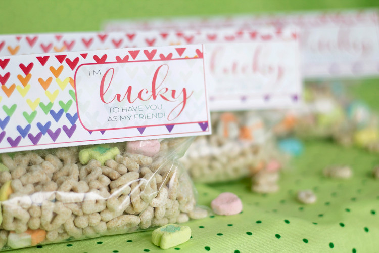 St. Paddy's Day Lucky Tags