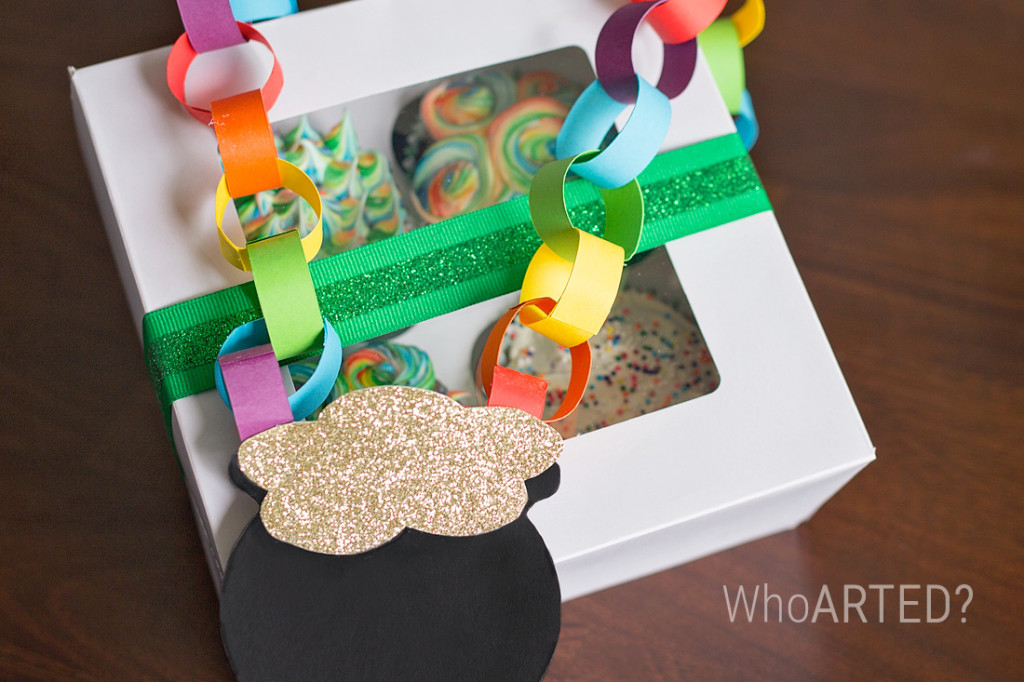 Rainbow Swirl Cupcakes 05