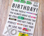 Candy Gram Birthday Card {printable}