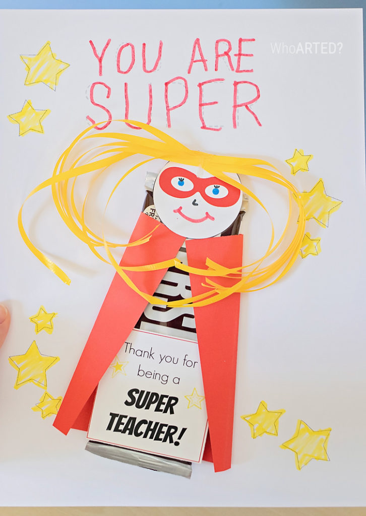 Teacher Appreciation Superhero