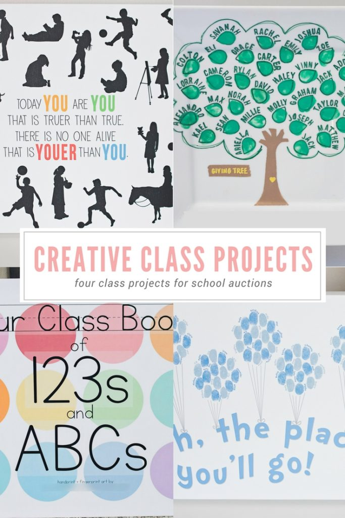 Creative Class Auction Projects