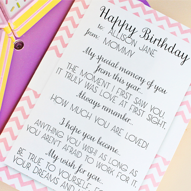 birthday memory cards free download